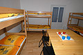 Eight beds room in hostel Abacus